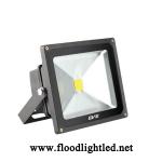LED Flood Light 50w EVE แสงวอร์มไวท์ (แสงสีส้ม)
