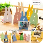 Rabbit Wood Phone Holder ที่วางโทรศัพท์กระต่ายไม้