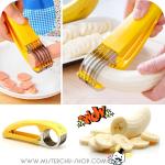 Banana Slicer ที่สไลด์กล้วยและไส้กรอก(แบบมือบีบ)