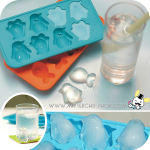 Penguin Ice Mold พิมพ์ซิลิโคน