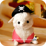 Alpacasso Pirate ตุ๊กตาอัลปาก้า โจรสลัด
