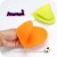 Heat Resistant Glove : ถุงมือจับของร้อนซิลิโคน ดีไซน์น่ารัก thumbnail 6