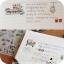 Cute Piggy Stickers สติกเกอร์รูปหมูน้อย 6 ชุด thumbnail 7