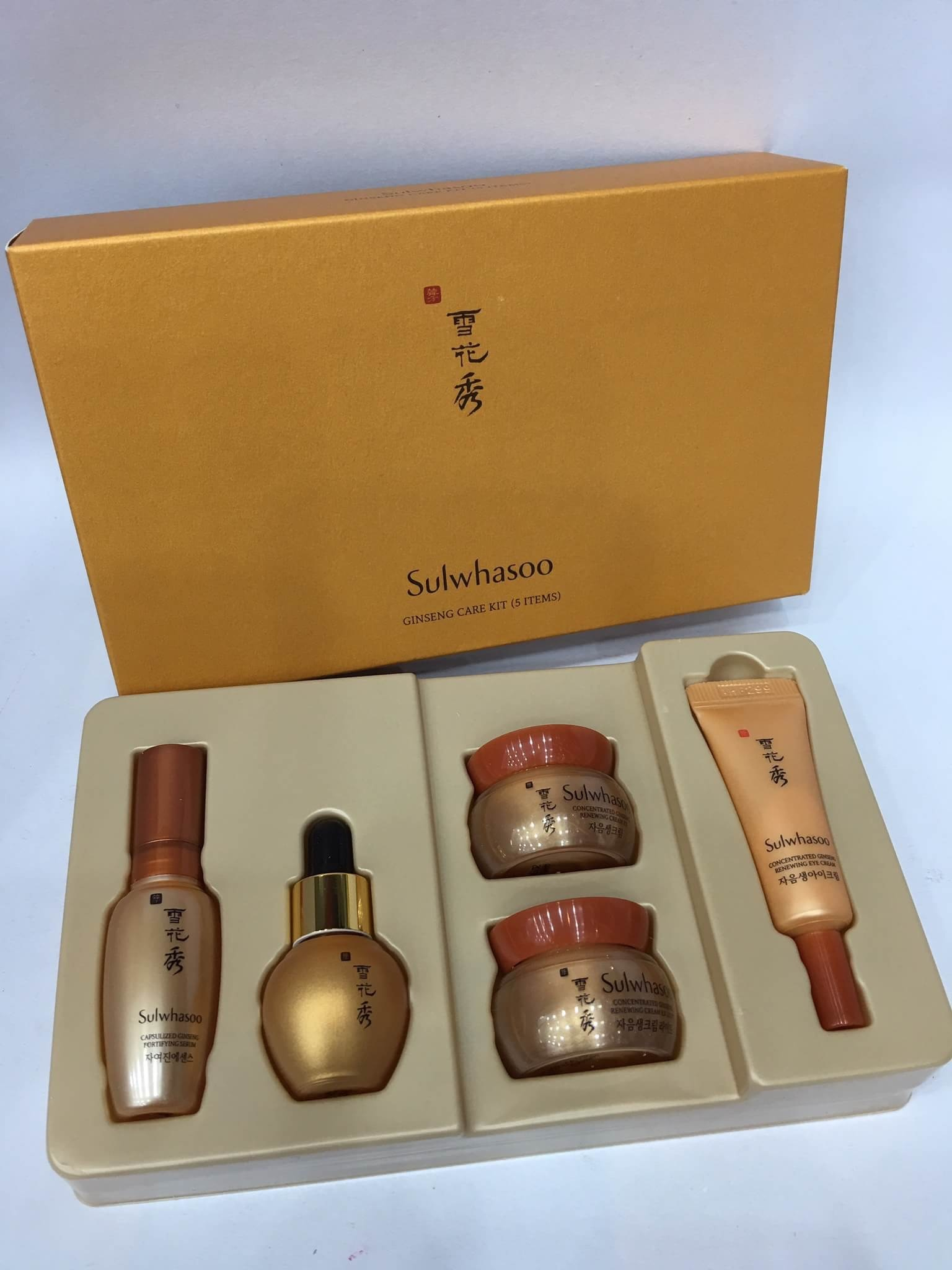 #Sulwhasoo Ginseng Care Kit (5 Item)
