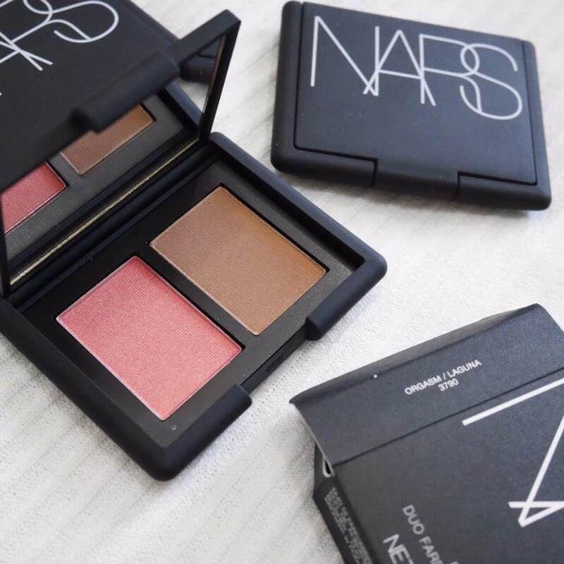 #NARS Blush / Bronzer Duo #Orgasm / Laguna