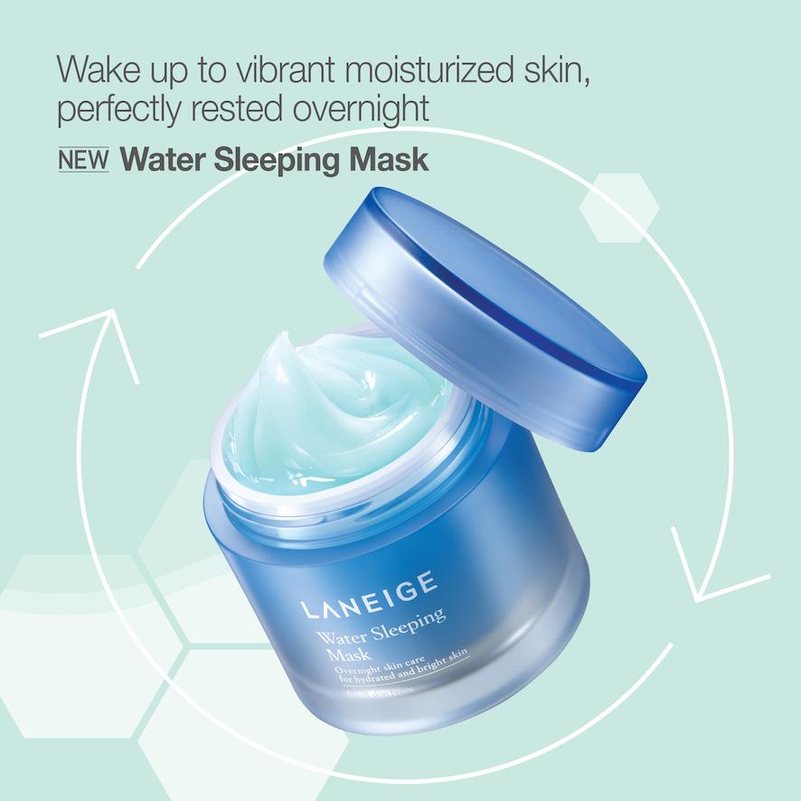 Laneige Water Sleeping Mask 70ml คืนความชุ่มชื่นให้ผิวคุณระหว่างหลับใช้เพียงหนึ่งสัปดาห์ คุณจะรู้สึกได้ถึงความแตกต่าง ใช้เพียงสัปดาห์ละสามวันก็เพียงพอ