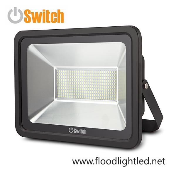 สปอร์ตไลท์ LED 150w รุ่น SMD ECO ยี่ห้อ Switch (แสงส้ม)