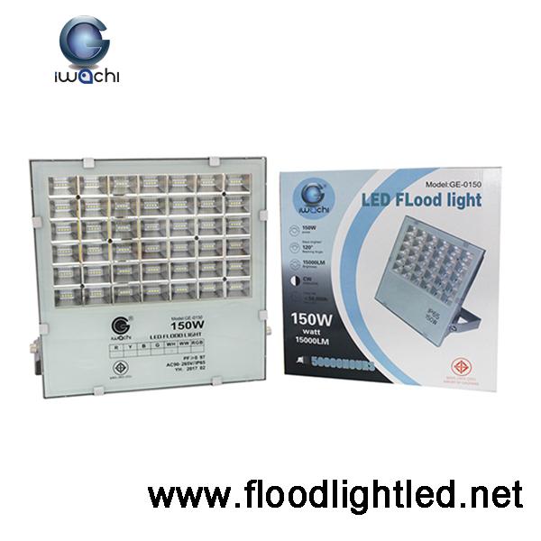 สปอร์ตไลท์ LED 150w ยี่ห้อ IWACHI (แสงส้ม)