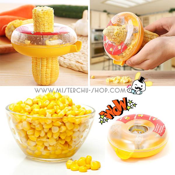 Corn Kernel Remover อุปกรณ์แกะข้าวโพด