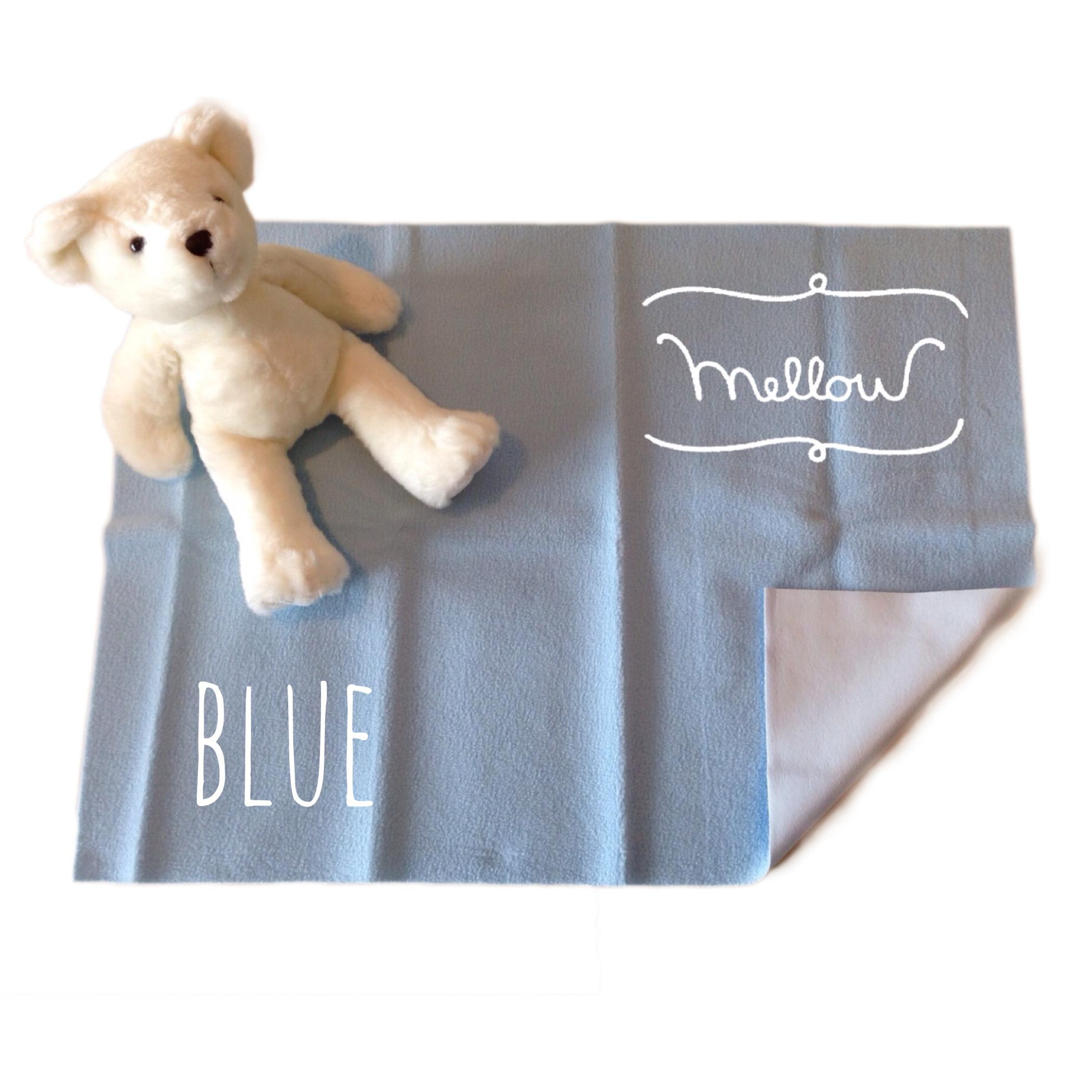 ผ้ารองกันฉี่ Mellow Quick dry SIZE S Blue
