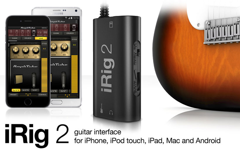 IRIG 2 – Mobile GUITAR INTERFACE