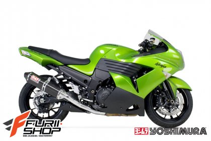 ท่อ YOSHIMURA CARBON SLIP-ON FOR KAWASAKI ZX14