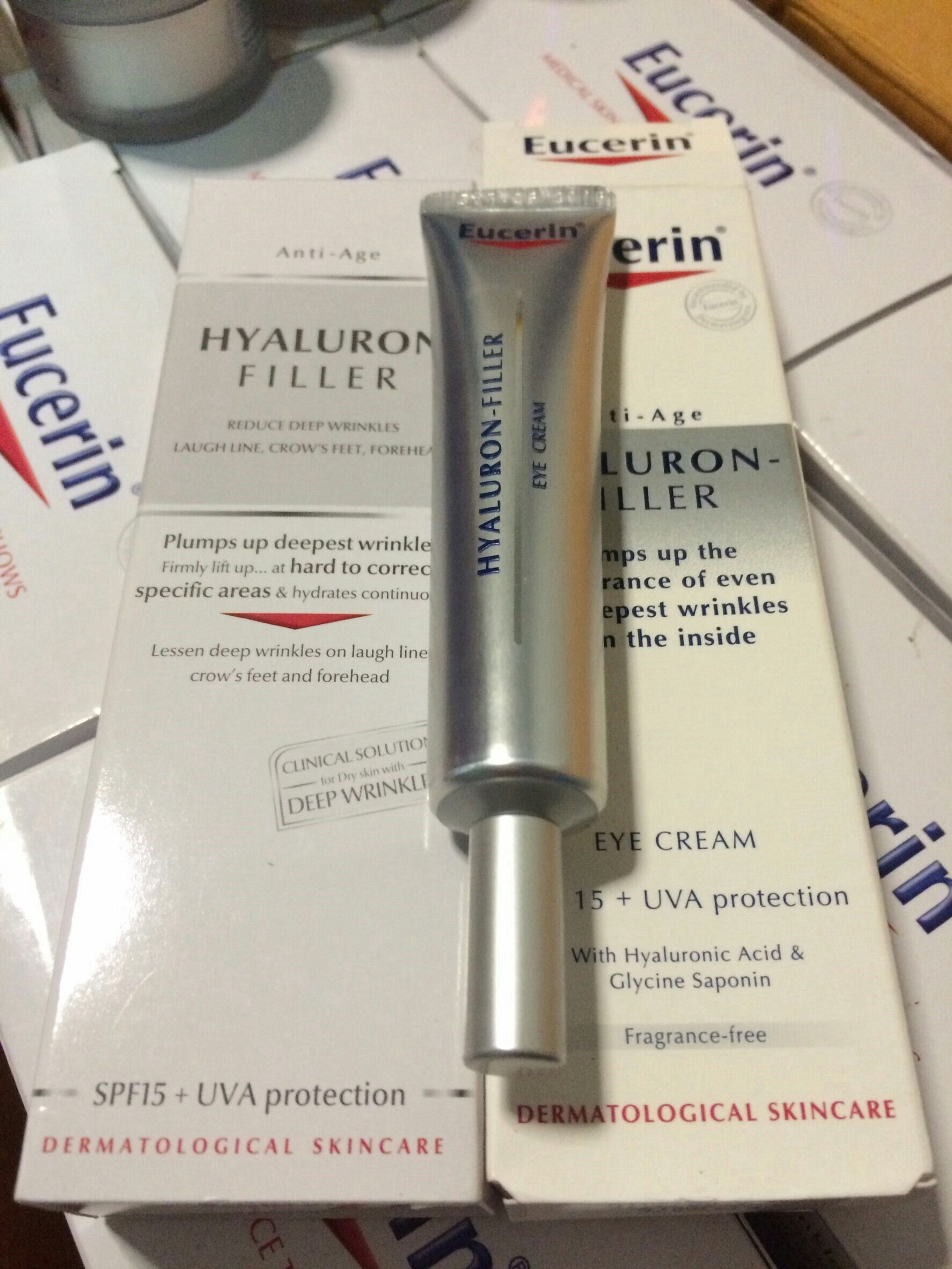 #Eucerin Hyaluron Filler Eye Cream
