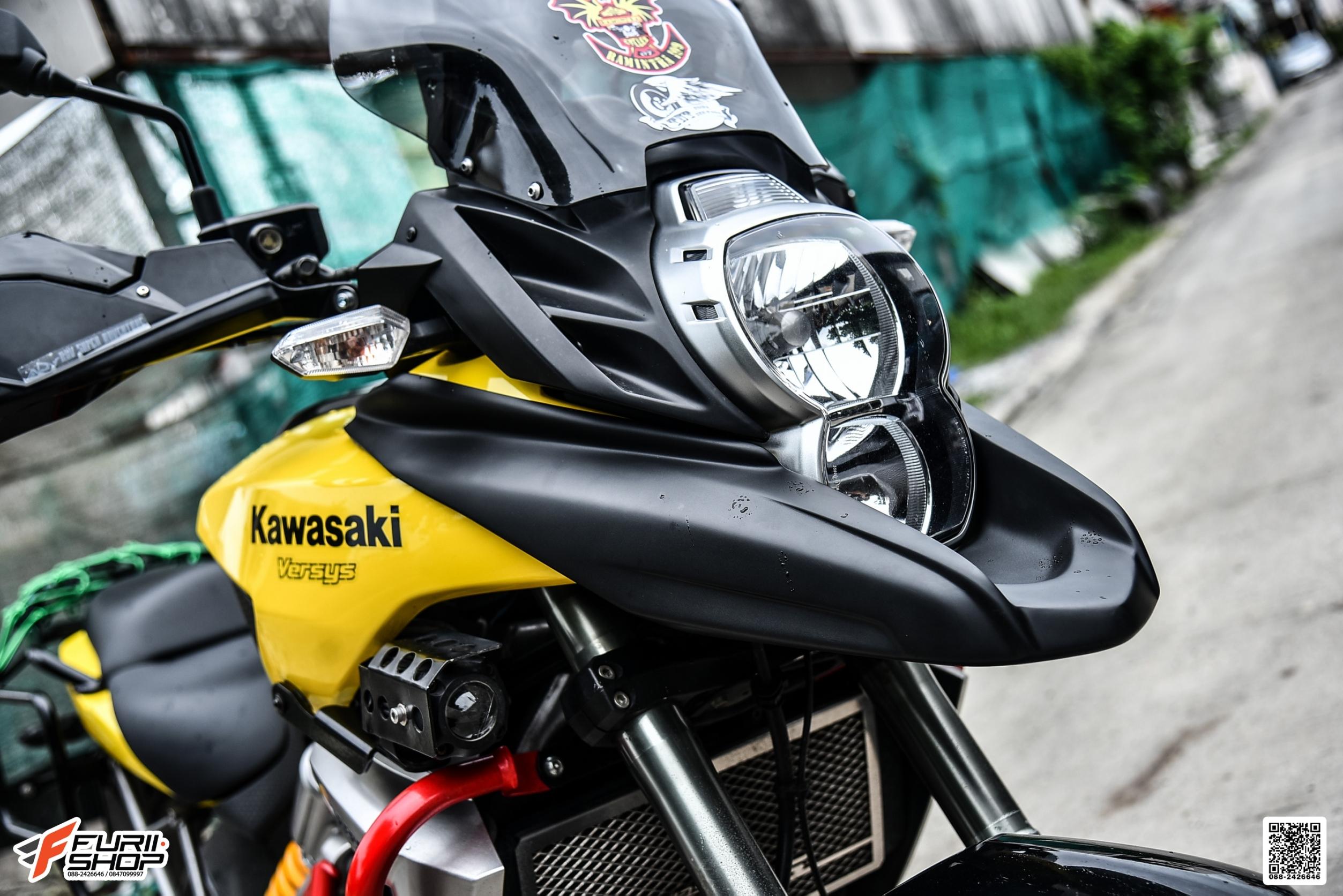 ปากนก STORM FOR KAWASAKI VERSYS650 2010