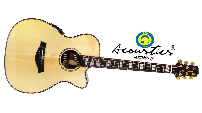Acoustics 220 C Top Solid Sitka