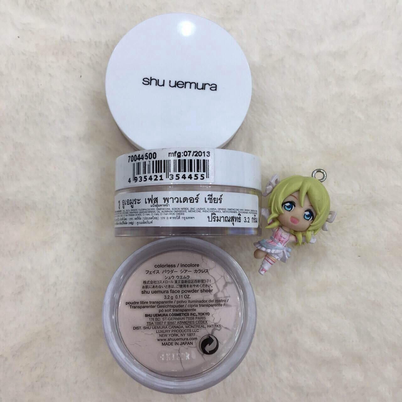 #Shu Uemura Face Powder Sheer