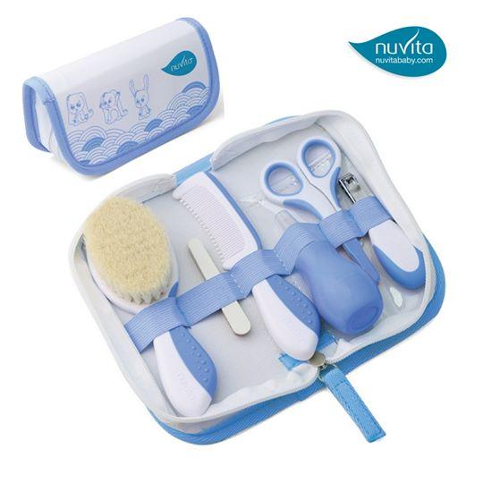 Nuvita - Essential Baby Care Kit Blue สีฟ้า