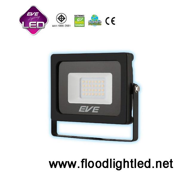 สปอร์ตไลท์ LED 10w รุ่น Slender ยี่ห้อ EVE (แสงขาว)