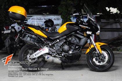 Crash Bar งานไทย สำหรับ Versys 650
