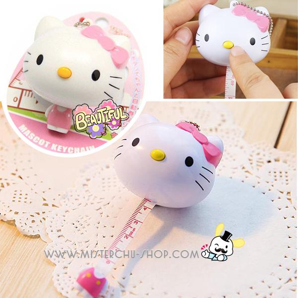 สายวัดพวงกุญแจ Hello Kitty