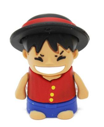แฟลชไดร์ฟลูฟี่ จากการ์ตูน วันพีช (Luffy One Piece) ความจุ 16 GB