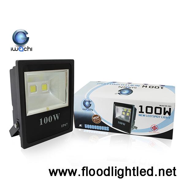 สปอร์ตไลท์ LED IWACHI 100w (แสงขาว)