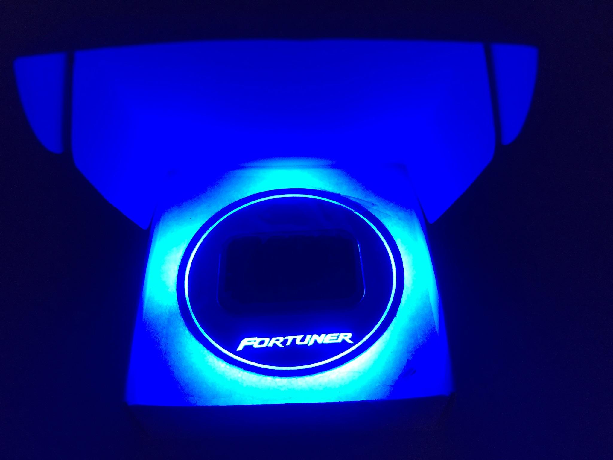 Fortuner Blue สีฟ้า
