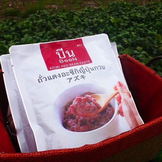 ถั่วแดงอะซึกิญี่ปุ่นกวน ตรา บีน 500 g.(บรรจุ 24 ซอง) **