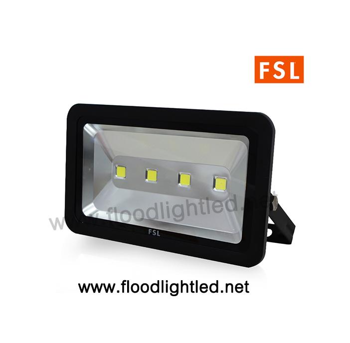 LED Floodlight 200w FSL (แสงวอร์มไวท์) แสงสีส้ม