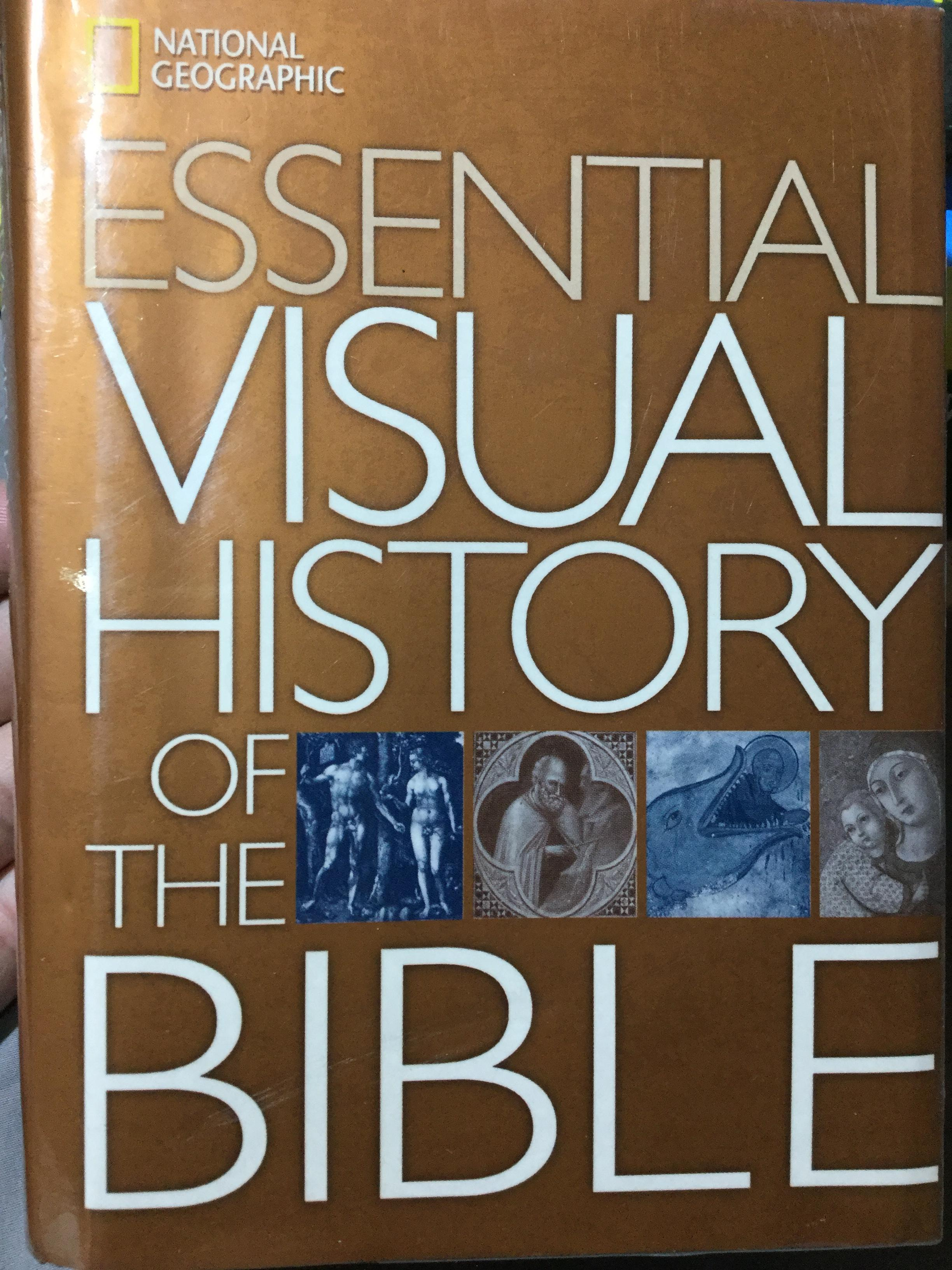 Essential Visual History of The BIBLE by NATIONAL GEOGRAPHIC