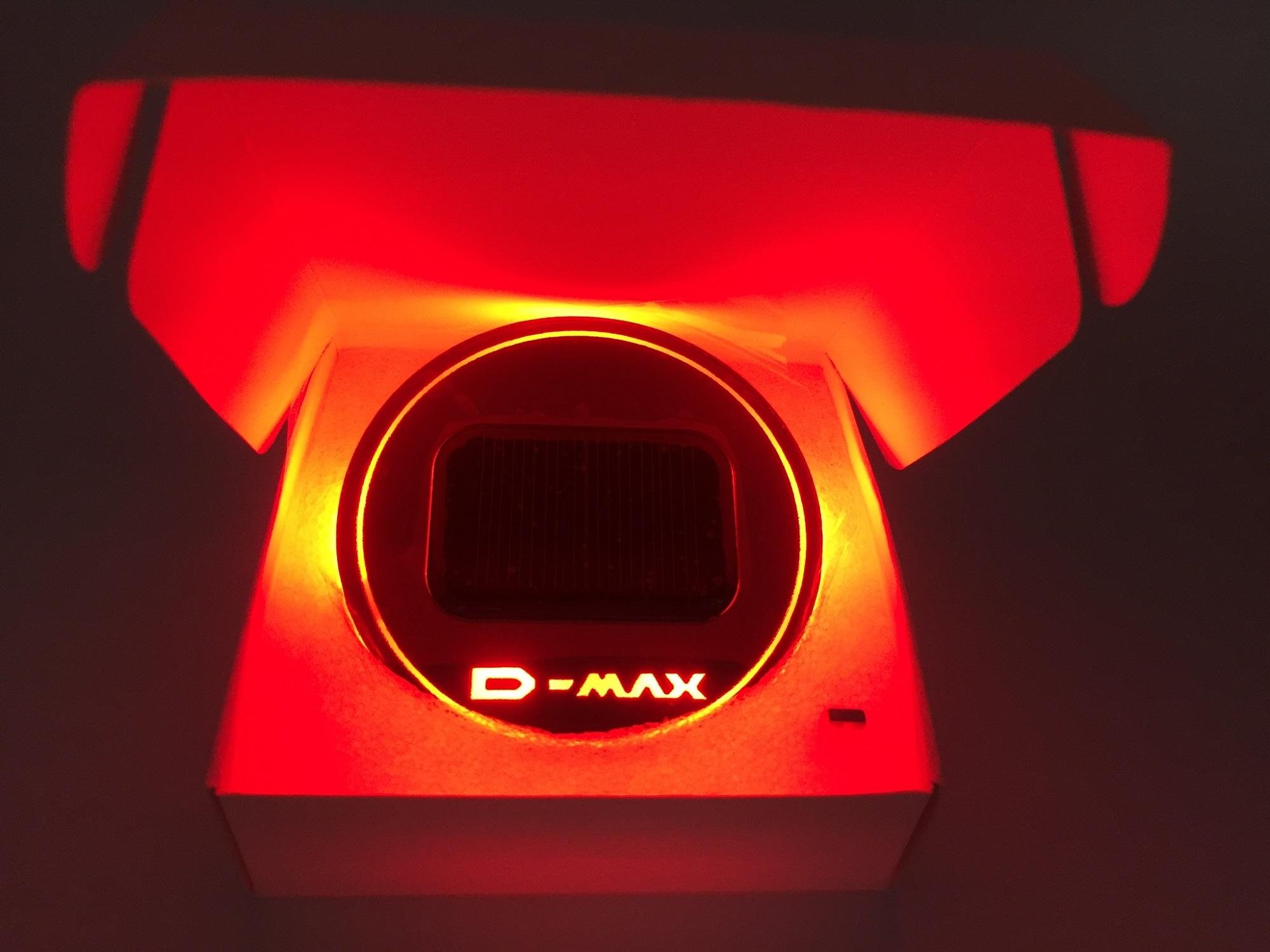 D max Red สีแดง