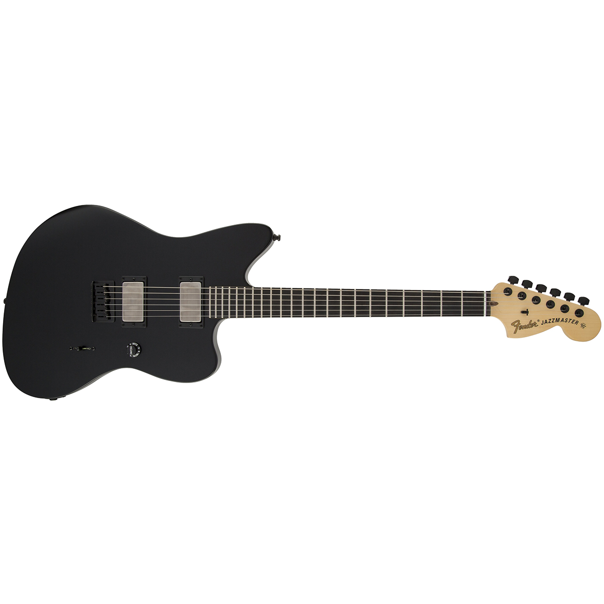 Fender Jim Root Jazzmaster Electric Guitar Satin Black