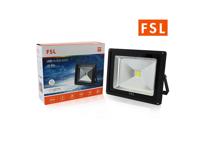 LED Floodlight 30w FSL แสงเดย์ไลท์ (แสงสีขาว)
