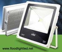 LED Flood Light Slim 20w BIOBULB สีขาว (แสงขาว)