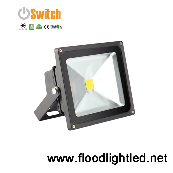 สปอร์ตไลท์ LED 10w ยี่ห้อ SWITCH (แสงส้ม)