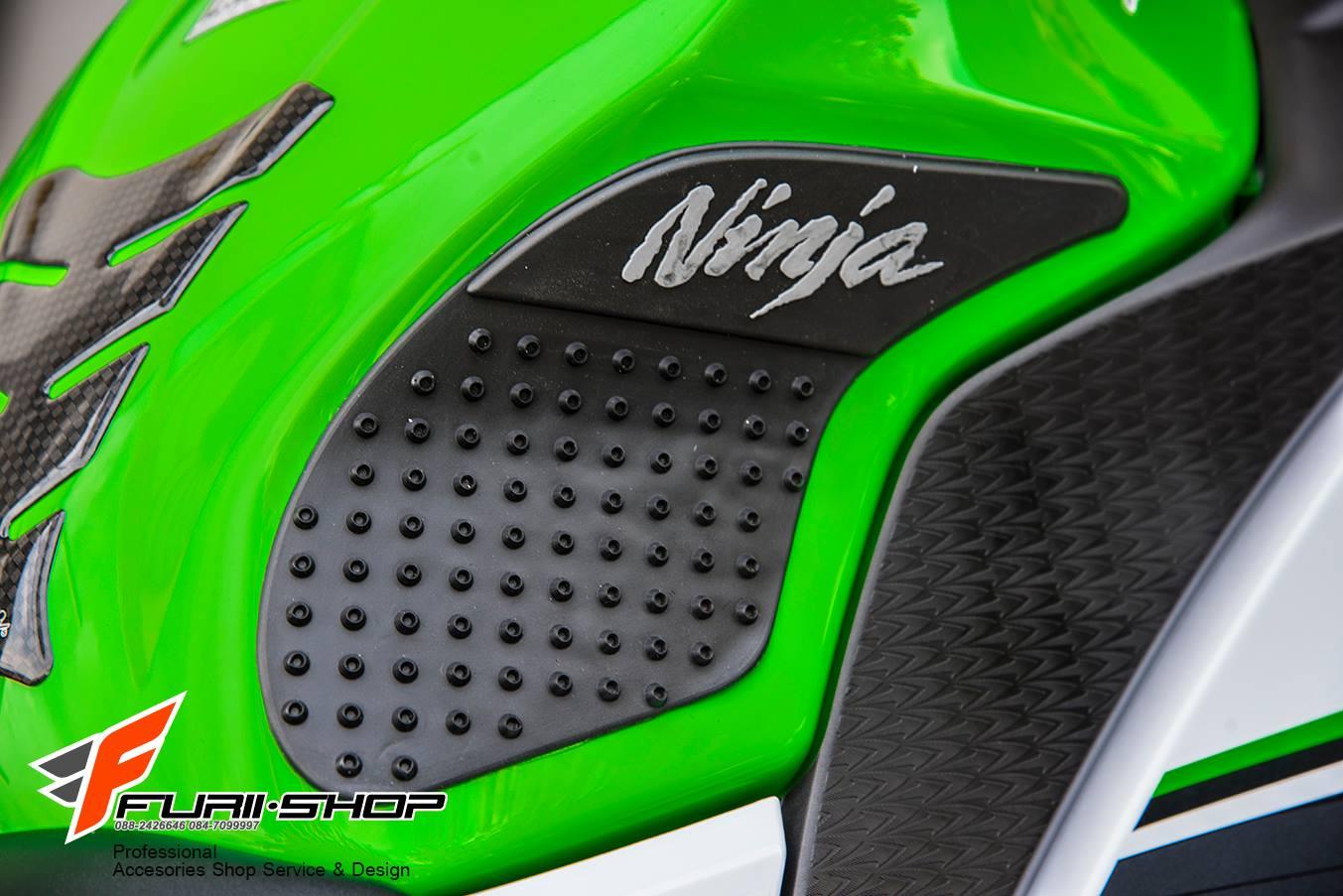 สติ้กเกอร์กันข้างถัง Nakeo สำหรับ Kawasaki Ninja300 Ninja250