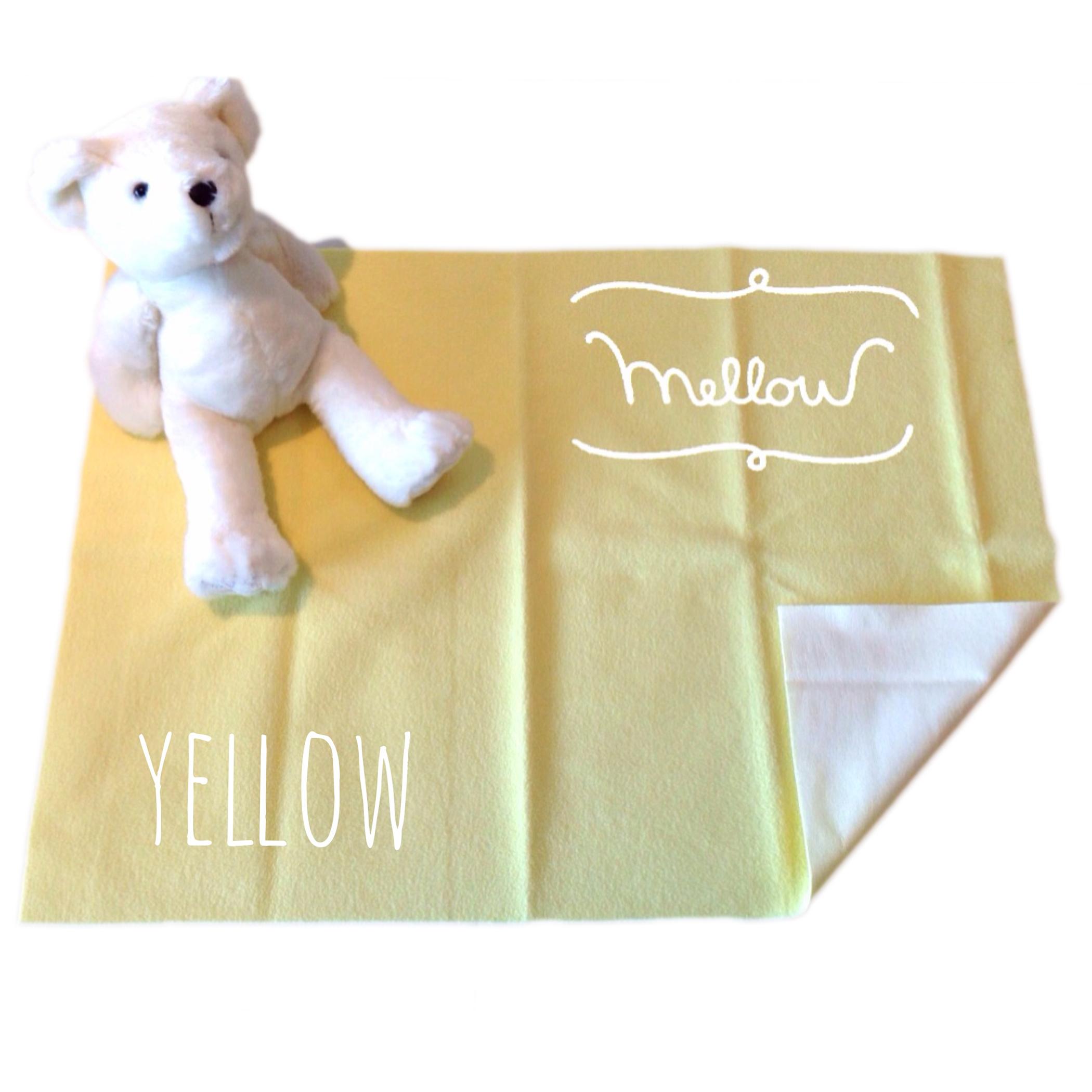 ผ้ารองกันฉี่ Mellow Quick dry SIZE S Yellow