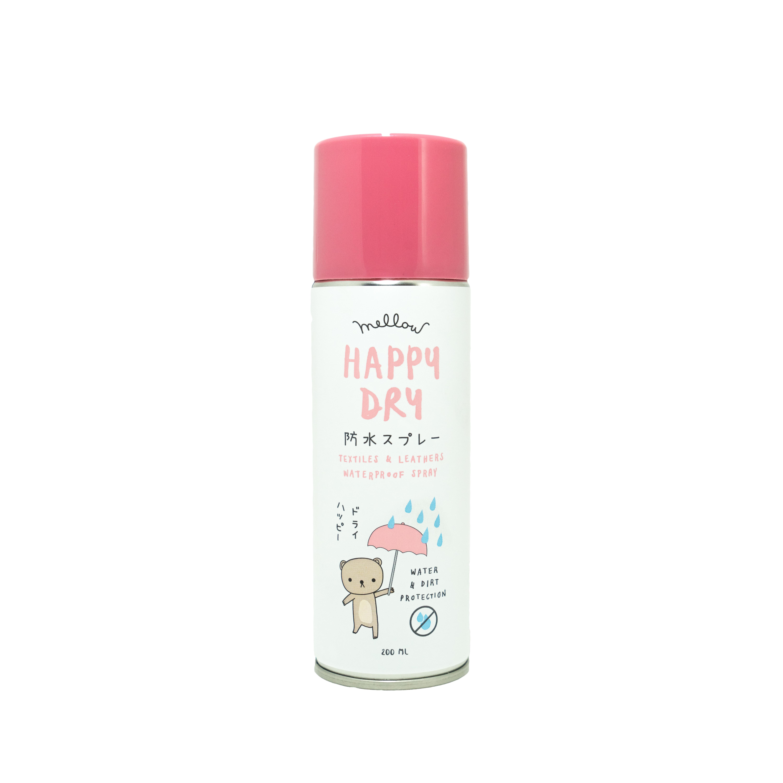 Mellow Happy Dry Spray สเปรย์ป้องกันน้ำของเหลวและคราบสกปรก ขนาด 200 ml.