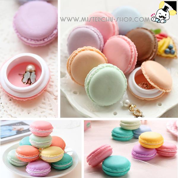 กล่องเก็บของ Mini Macaron 4 ชิ้น