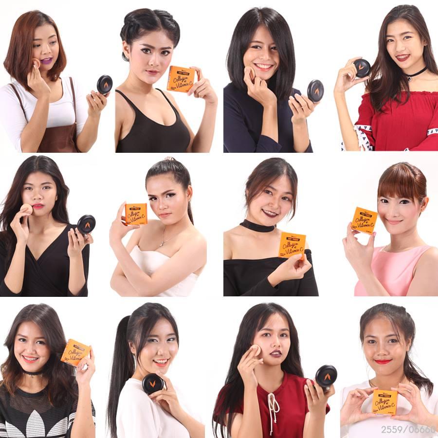 แป้งพัฟ envy เหมาะกับทุกเฉดสีผิวสาวไทย