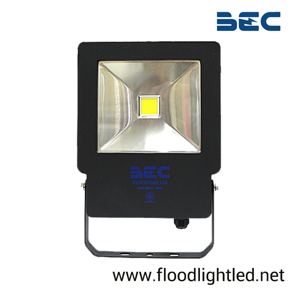 สปอร์ตไลท์ LED 30w รุ่น FOX ยี่ห้อ BEC (แสงส้ม)