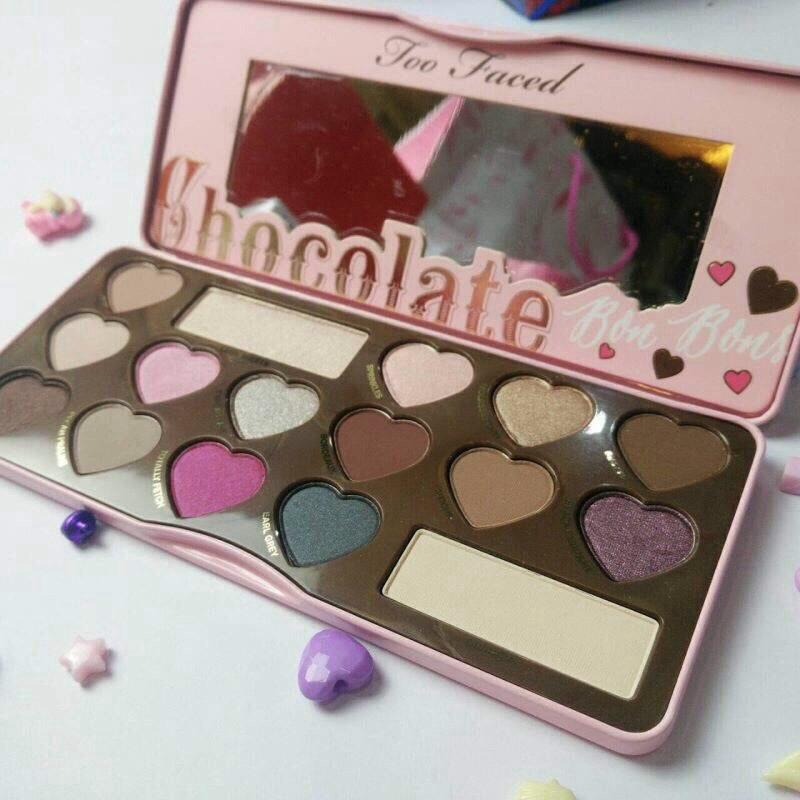 #Toofaced chocolate bar bon eye shadow collection