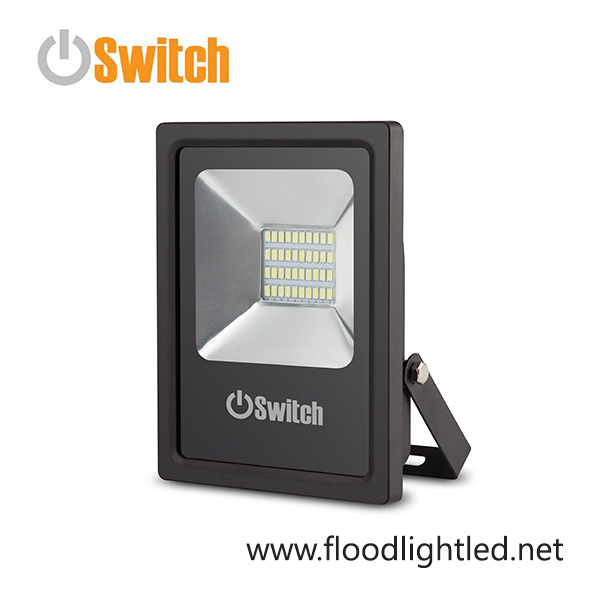 สปอร์ตไลท์ LED 20w รุ่น SMD ECO ยี่ห้อ Switch (แสงส้ม)