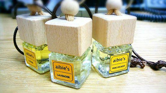 น้ำหอมรถยนต์ AIBIES (ปราศจากแอกอฮอล์) ขนาด 6 ml.**