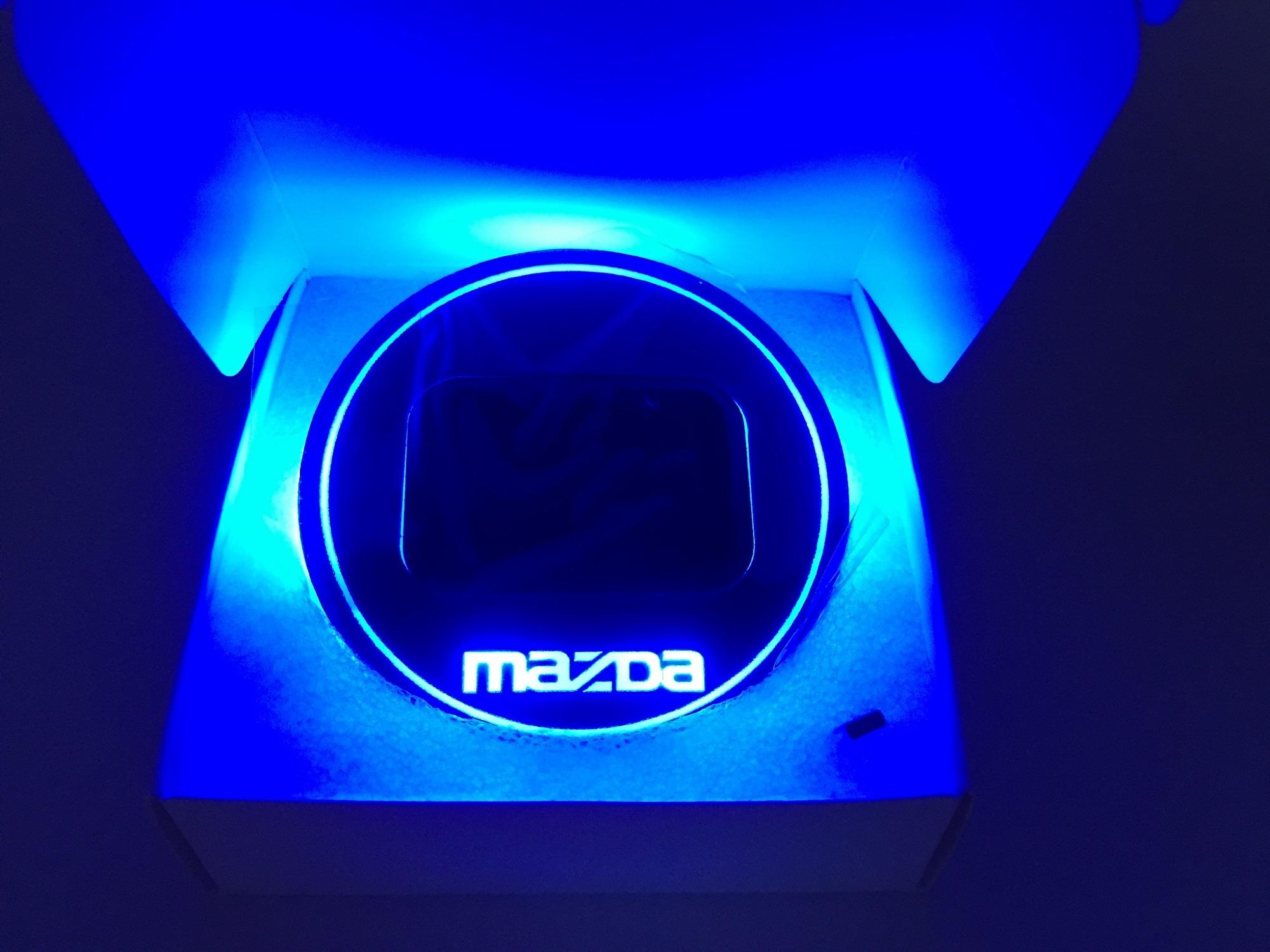 Mazda Blue สีฟ้า