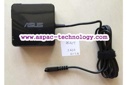 ASUS Original Adapter อแด๊ปเตอร์ของแท้ 19V 3.42A 65W หัว 4.0x1.35 mm (แบบใหม่)