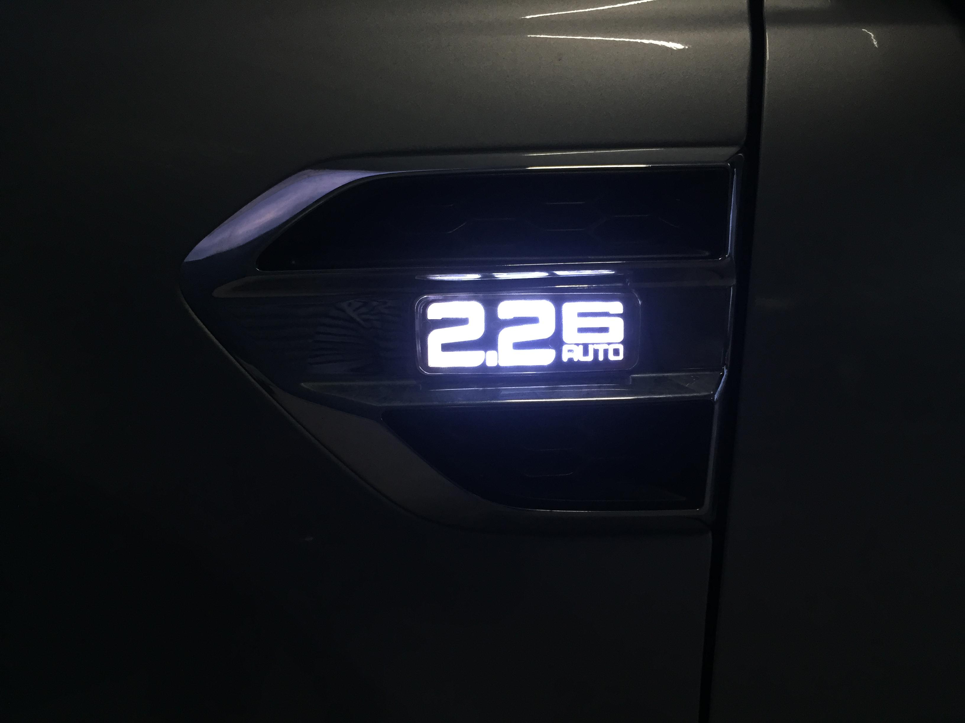 ไฟแก้มข้าง 2.2 auto