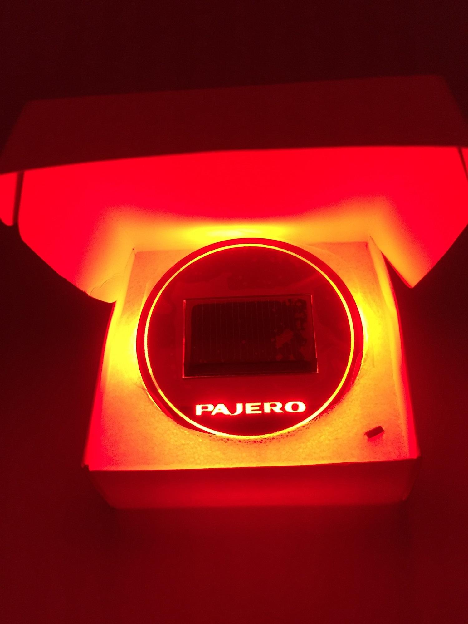 Pajero Sport Red สีแดง