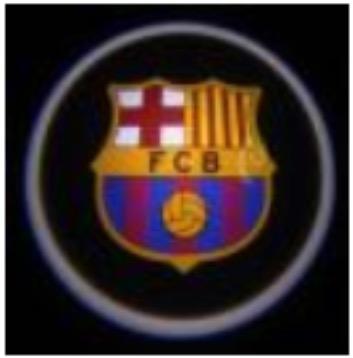 ไฟส่องประตู Welcome Light - Barcelona FC