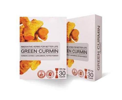 GREEN CURMIN กรีน เคอมิน กรดไหลย้อน โรคกระเพาะ